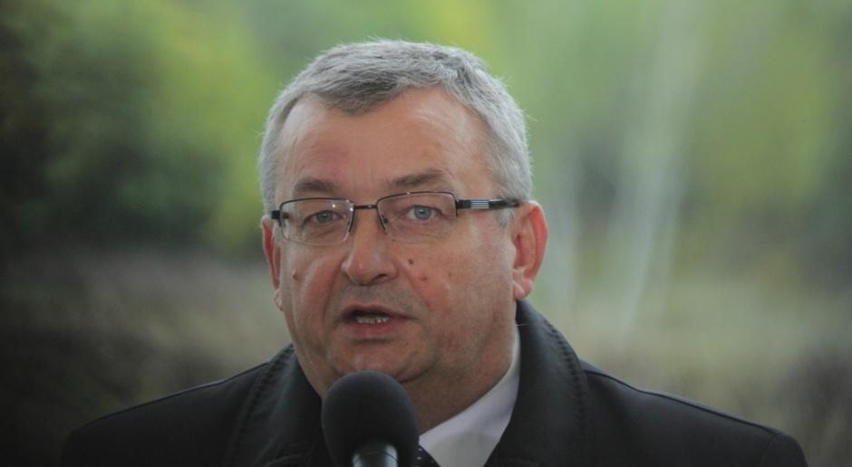 Andrzej Adamczyk: musimy zrealizować Narodowy Program Mieszkaniowy