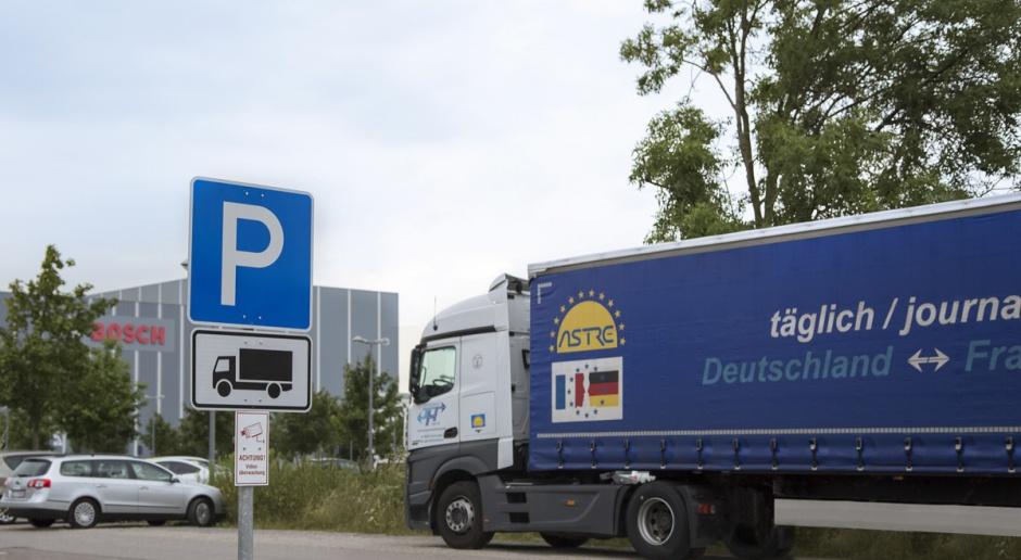 Bosch Secure Truck Parking: pomysł na parkowanie ciężarówek