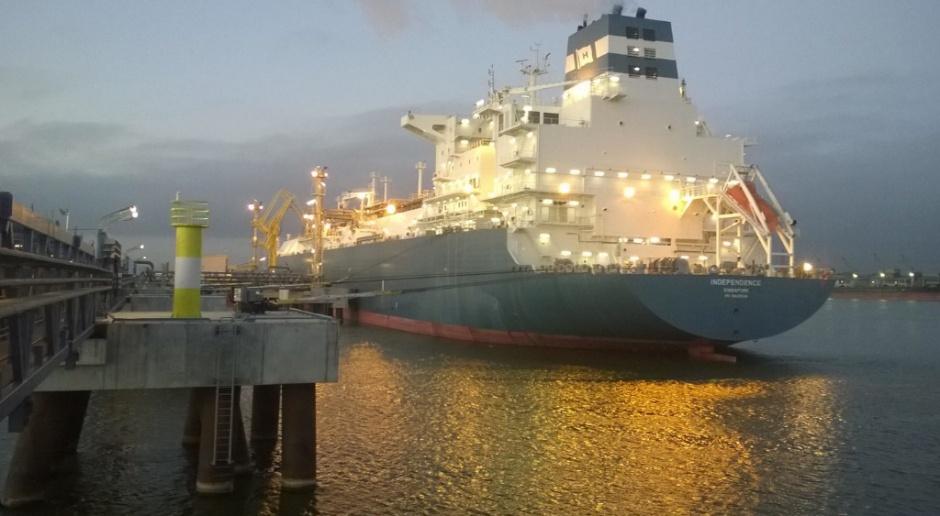 Nietypowy transport LNG do Świnoujścia