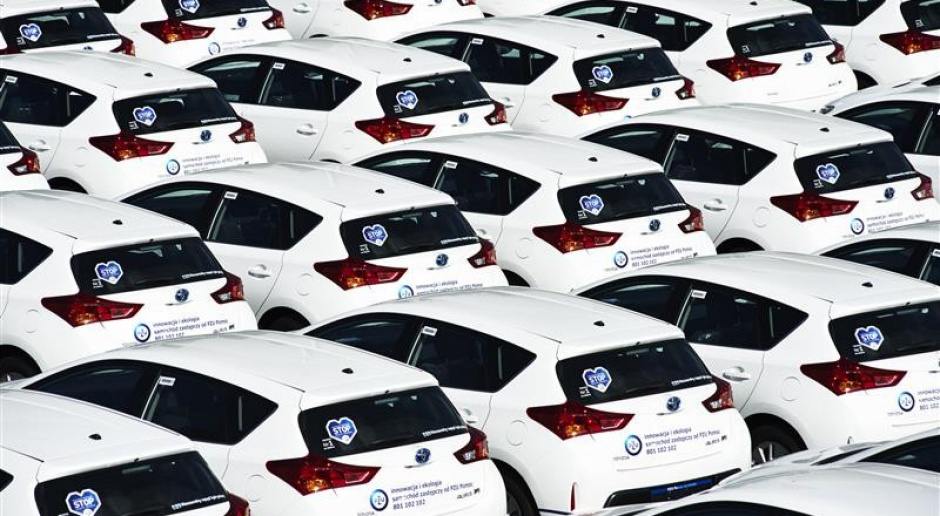 Toyota ponownie sprzedała ponad 10 mln samochodów na świecie