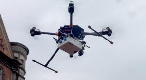 Udany test drona w transporcie między dwoma szpitalami
