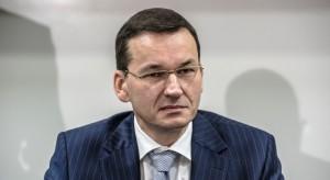 Morawiecki: wariant rozwoju kolei dużych prędkości przed 2020 r.