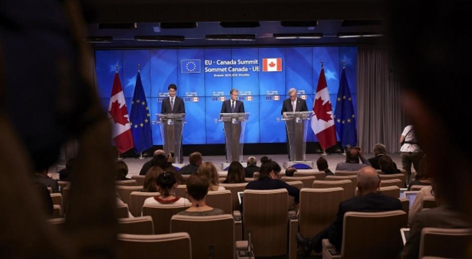Unia i Kanada podpisały umowę gospodarczo-handlową CETA