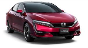 Honda Clarity Fuel Cell z zasięgiem 589 km