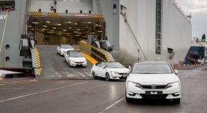 Wodorowa Honda Clarity w Europie