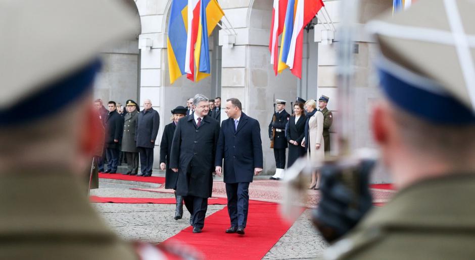 Duda i Poroszenko krytykują decyzję ws. gazociągu OPAL