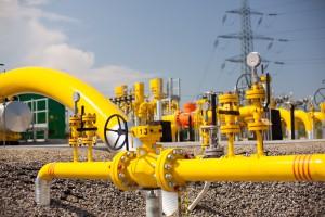 Przesył gazu polskim systemem spadł o jedną trzecią