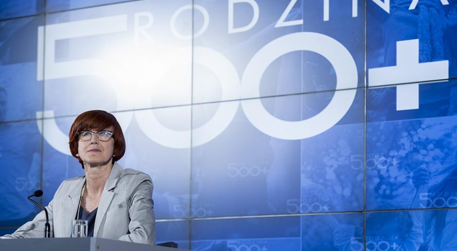 """Rafalska: złożono już 2,5 miliona wniosków o """"500 plus"""""""