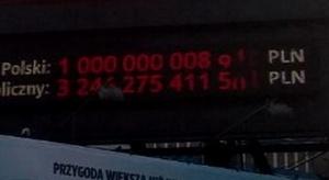 Dług publiczny Polski to już bilion