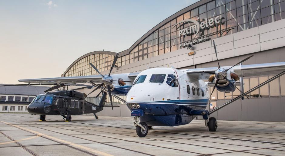 PZL Mielec dostarczył samoloty M28 dla PD Sicherheit
