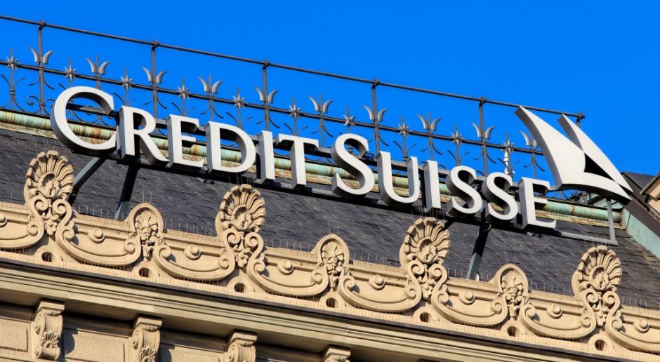 Szwajcarski KNF bada wielomiliardowe straty Credit Suisse