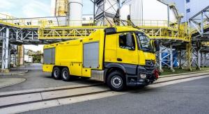 Wóz pożarniczy z Polski będzie strzegł seulskiego lotniska