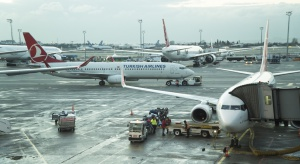 Turcja. Z powodu opadów śniegu odwołano ponad 300 lotów ze Stambułu