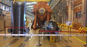 Turbina dla Elektrowni Opole wysłana z zakładu GE w Elblągu
