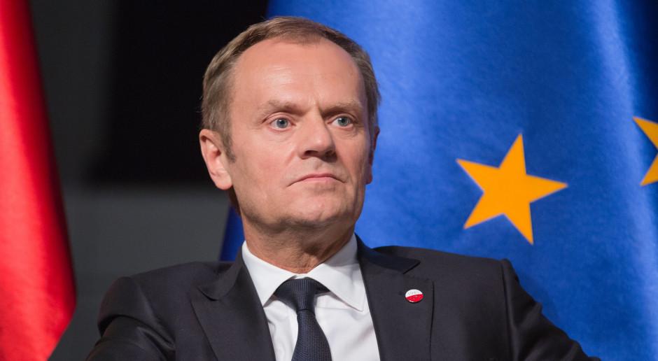 Donald Tusk: Theresa May wierzy, że może uniknąć opóźnienia brexitu