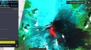 Włochy: erupcja wulkanu Etna – zdjęcia satelitarne z zasobów platformy EO Cloud