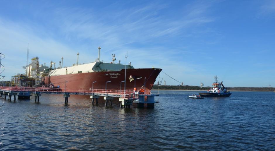 Gazoport w Świnoujściu przyjął już 2,5 mln m sześc. LNG