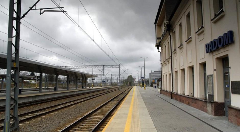 Duże inwestycje kolejowe w Radomiu i okolicach