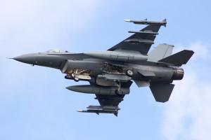W trakcie ćwiczeń na Tajwanie zaginął myśliwiec F-16