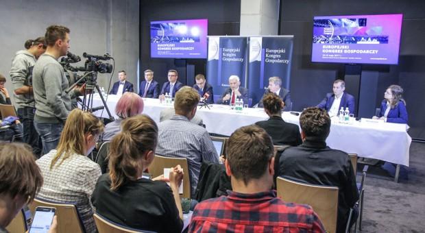 Konferencja prasowa poprzedzająca Europejski Kongres Gospodarczy 2017
