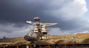 Protest ekologów na terenie kopalni pod Koninem