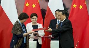 Premier Szydło w Pekinie. Pierwsze dokumenty o współpracy podpisane