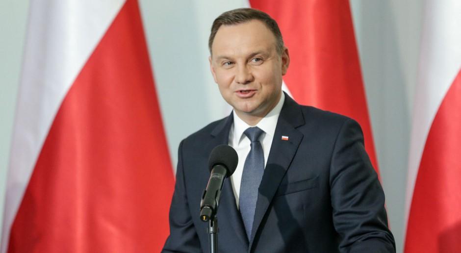 Andrzej Duda podziękował ratownikom górniczym