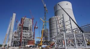 Budowa bloku 910 MW w Elektrowni Jaworzno już na półmetku. Zobacz wideo z placu budowy