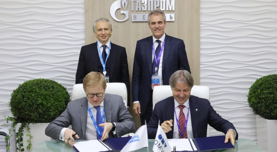 OMV z firmą Gazprom Nieft w Iranie