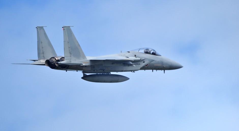 Myśliwiec F-15 rozbił się w Korei Południowej