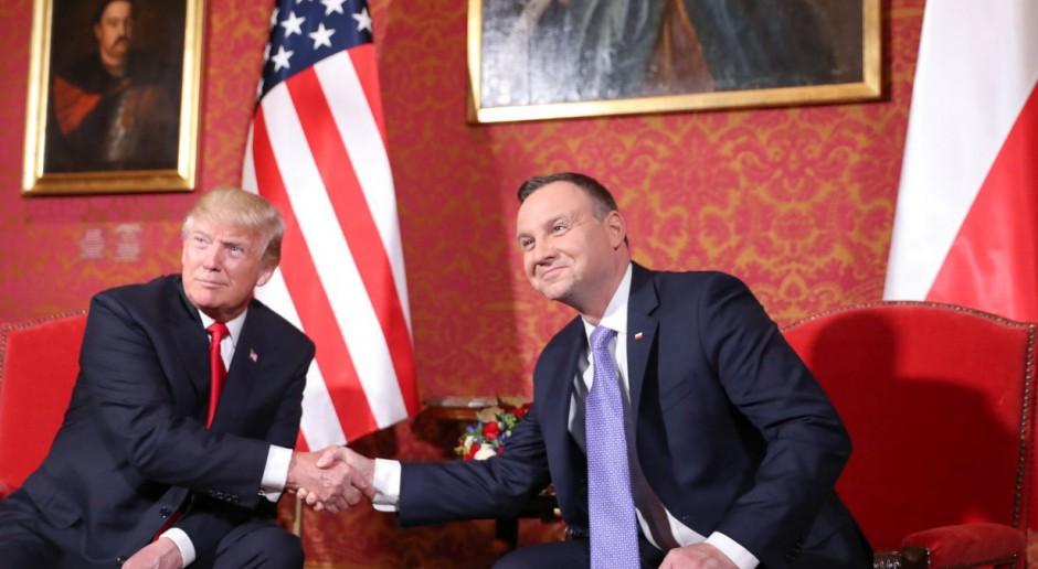 Trump w Polsce: jest nadzieja na kontrakty gazowe i współpracę energetyczną