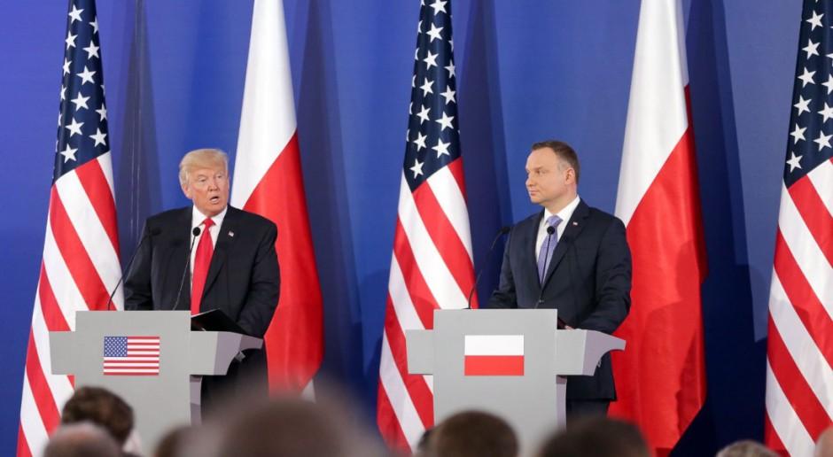 Ameryka oferuje Polsce gaz. Bezpieczeństwo energetyczne kluczowym punktem wizyty Donalda Trumpa
