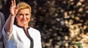 Urzędująca prezydent Chorwacji przegrała pierwszą turę wyborów