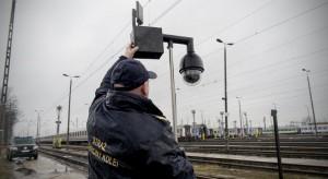 Straż Ochrony Kolei urządziła protest w Warszawie