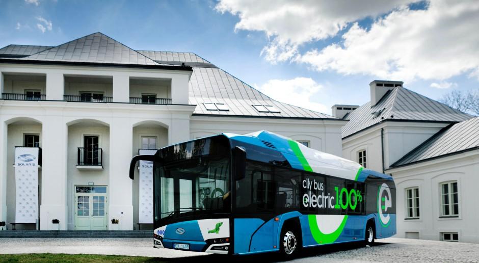 Elektryczne Solarisy pojadą do Frankfurtu