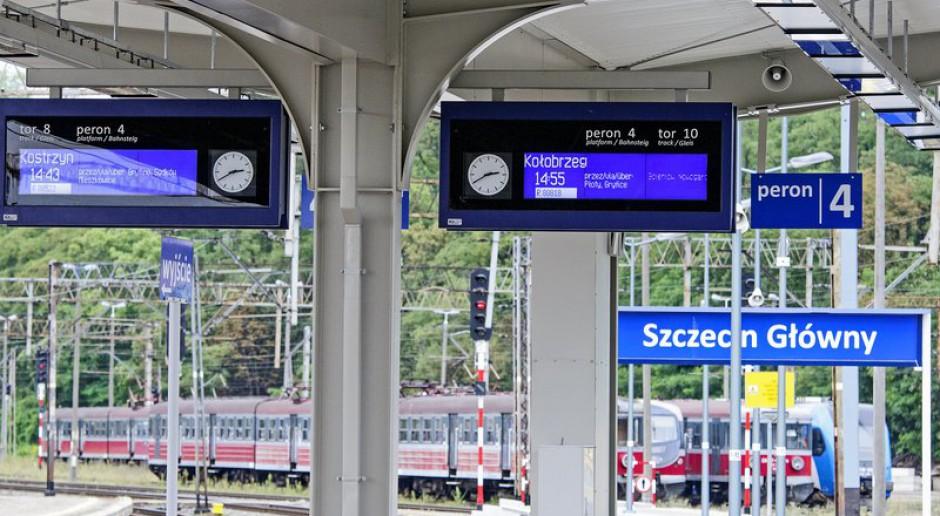 PKP PLK mają oferty na Szczecińską Kolej Metropolitalną - od 0,5 do 0,7 mld zł