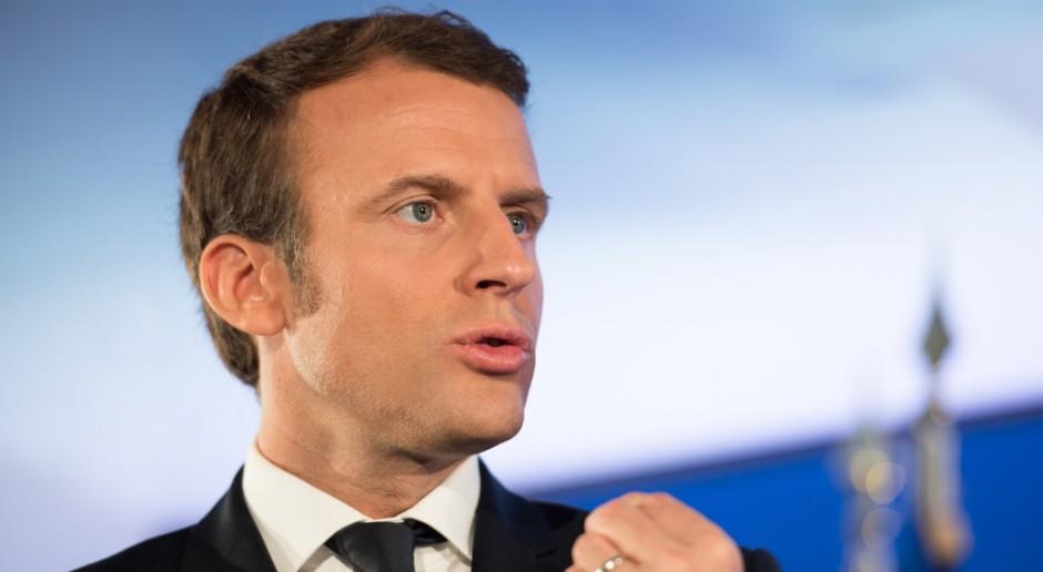 Macron chce, aby fundusze UE były uzależnione od standardów socjalnych