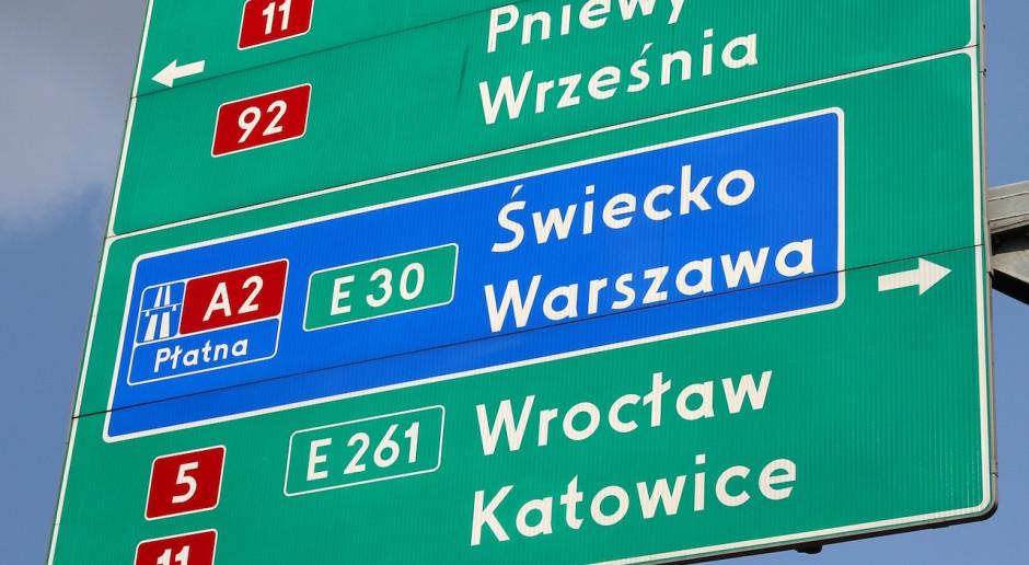 Autostrada Wielkopolska przelała Skarbowi Państwa pieniądze za autostradę A2