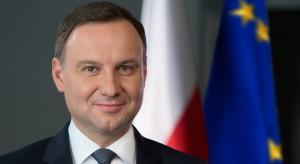 Prezydent Andrzej Duda Górnikom na Barbórkę