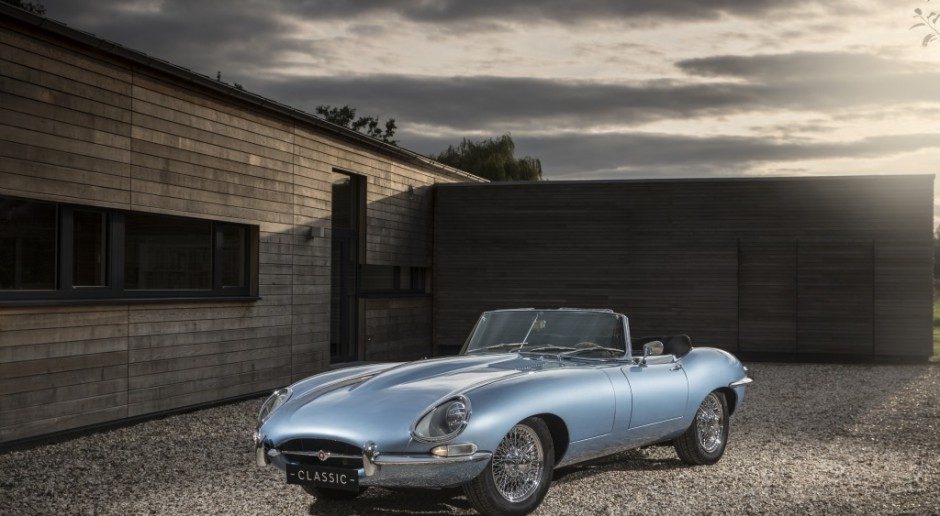 Jaguar pojedzie tylko na prąd