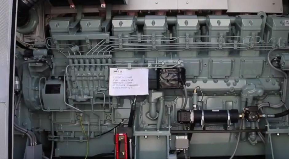 Instalacja koksowania w Lotosie z zapasowym generatorem
