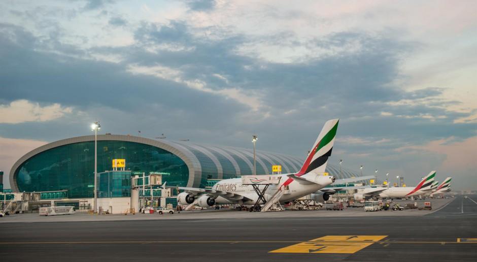 Port lotniczy w Dubaju zanotował historyczny spadek