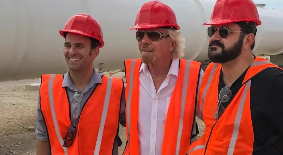 Virgin inwestuje w Hyperloopa