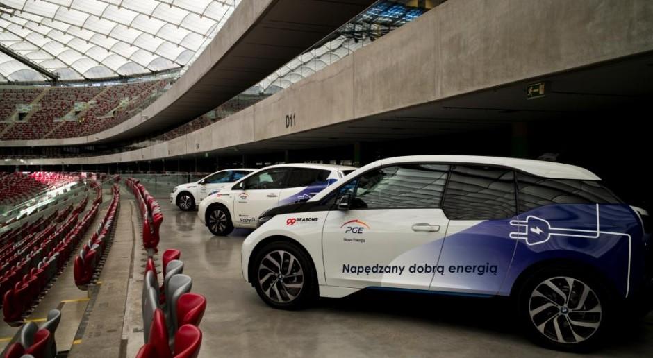 PGE chce mieć 1500 punktów ładowania samochodów elektrycznych