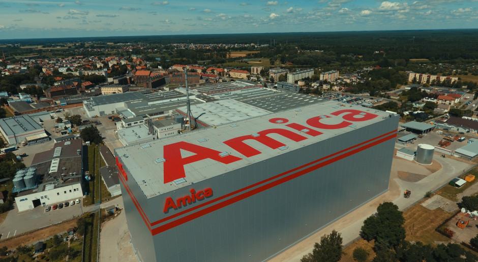 Ceny stali i frachtu dały popalić Grupie Amica. Mimo to ruszają inwestycje