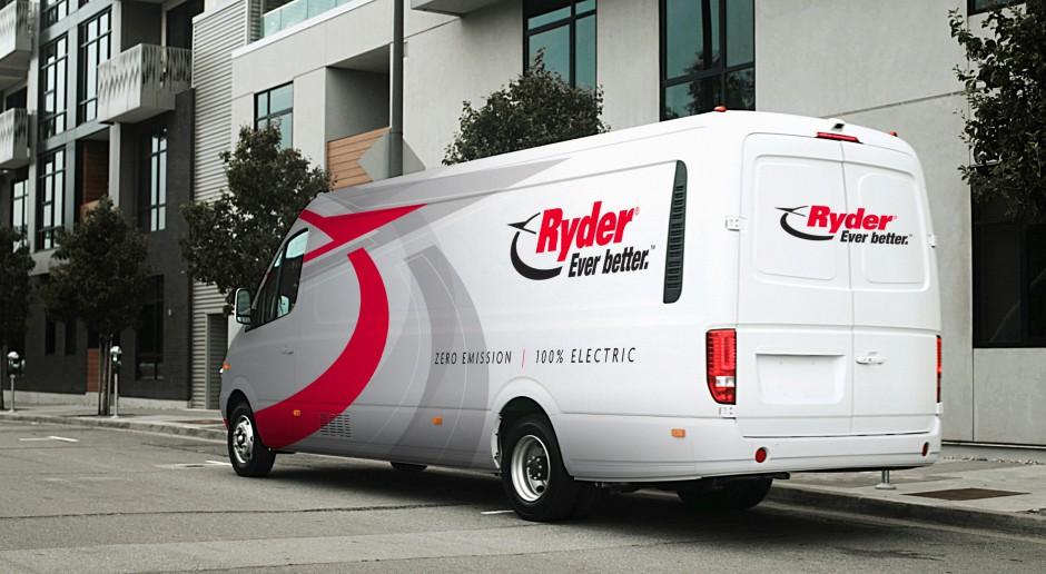 Ryder udostępni w USA klientom pojazdy elektryczne