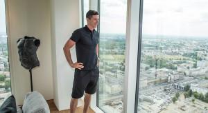 Robert Lewandowski nabył apartament w słynnym warszawskim wieżowcu