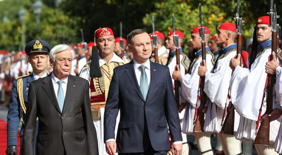 Pierwsza od 19 lat wizyta polskiego prezydenta w Grecji