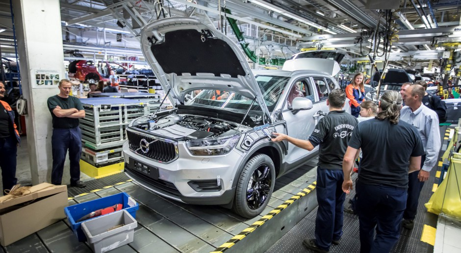 Volvo zmienia plany produkcyjne w związku ze sporem między Chinami i USA