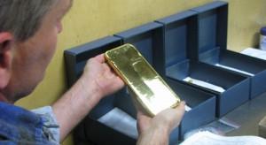 Złoto w Mennicy pojawia się i znika